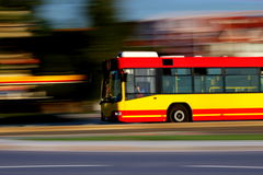 Speedy bus Royalty Free Stock Images