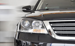 The speedy car Stock Photography