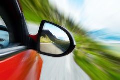 Speedy car Royalty Free Stock Photography