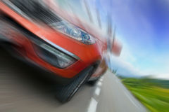 Speedy car Stock Photo