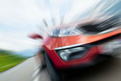 Speedy car Stock Photography