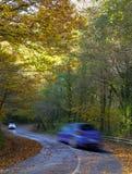 Speedy on car road. Royalty Free Stock Photos