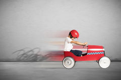 Speedy car toy stock images