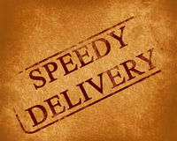 Speedy delivery Royalty Free Stock Photos