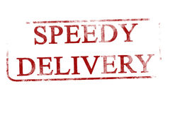 Speedy delivery Stock Photography