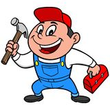 Speedy Handyman Royalty Free Stock Images