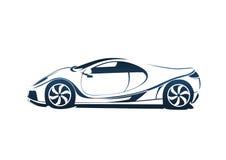 Speedy racing sport car Stock Photos