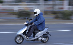Speedy scooter Royalty Free Stock Images