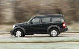 Speedy SUV Royalty Free Stock Images