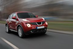 Speedy SUV Royalty Free Stock Photography