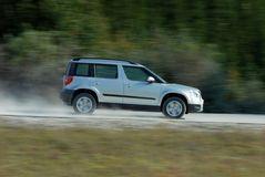 Speedy SUV Royalty Free Stock Photo