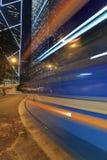 Speedy tram Stock Photography