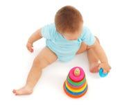 Speel baby Stock Foto's