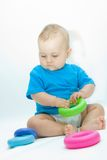 Speel baby Royalty-vrije Stock Afbeeldingen