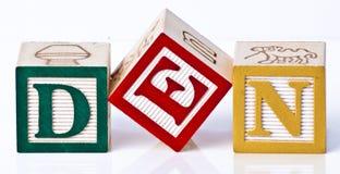 Speel blokken Stock Fotografie