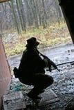 Speel de lucht zacht spel van de militair Stock Afbeelding