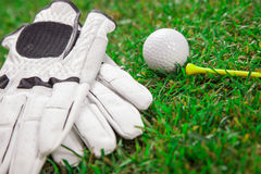 Speel een ronde van golf! Royalty-vrije Stock Foto's