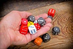 Speel - gok royalty-vrije stock afbeelding