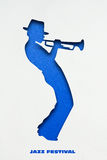 Speel Jazz Royalty-vrije Stock Afbeelding