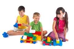 Speel kinderen Royalty-vrije Stock Foto
