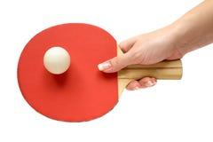 Speel Pingpong Stock Foto's