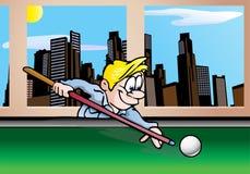 Speel pool stock illustratie