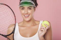 Speel tennis Stock Foto