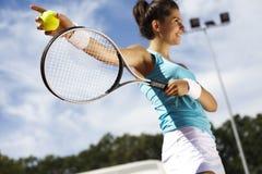 Speel tennis stock afbeeldingen