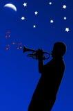 Speel weg de nacht Royalty-vrije Stock Afbeelding