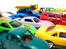 Speelgoed-auto's Stock Foto