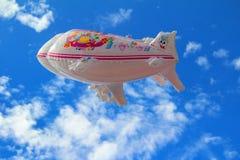 Speelgoed - Ballonvliegtuig Stock Afbeeldingen