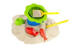 Speelgoed bij het strand Royalty-vrije Stock Fotografie