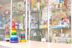 Speelgoed in de markt Royalty-vrije Stock Afbeelding