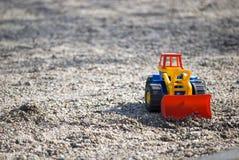 Speelgoed in het zand Royalty-vrije Stock Fotografie