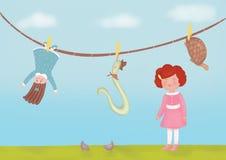 Speelgoed Rebecca Royalty-vrije Stock Foto's
