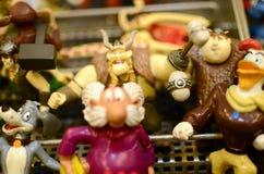 Het speelgoed van Figurins Stock Foto's