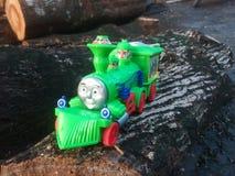 (Speelgoed) Thomas Train Royalty-vrije Stock Afbeelding
