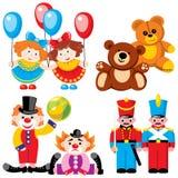 Speelgoed - tweelingen Stock Foto