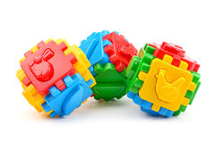 Speelgoed voor illustratie children Stock Foto