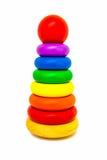 Speelgoed voor kinderen houten gebied Stock Afbeelding