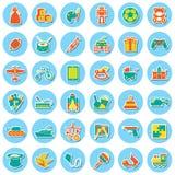 Speelgoedpictogram Royalty-vrije Stock Afbeelding