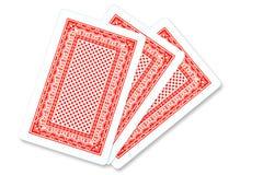 Speelkaart Stock Foto's