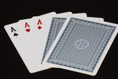 Speelkaart Royalty-vrije Stock Afbeelding
