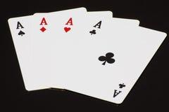 Speelkaart Stock Afbeelding