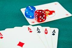 Speelkaarten 1 Royalty-vrije Stock Foto