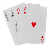 Speelkaarten Royalty-vrije Stock Afbeeldingen