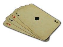 Speelkaarten stock foto