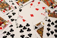 Speelkaarten royalty-vrije stock foto