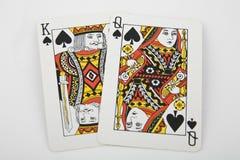 Speelkaarten stock afbeelding