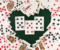 Speelkaarten Royalty-vrije Stock Afbeelding